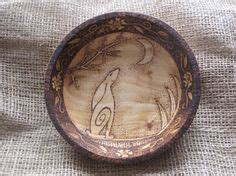 wooden bowl abstract squid pyrography design woodburned by wooden bowl abstract squid pyrography design woodburned by