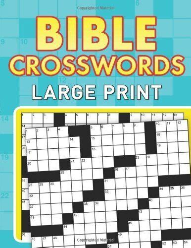 bible crosswords large print  compiled  barbour staff paperback barbour  ebay