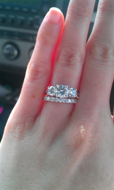 best 25 three engagement rings ideas on