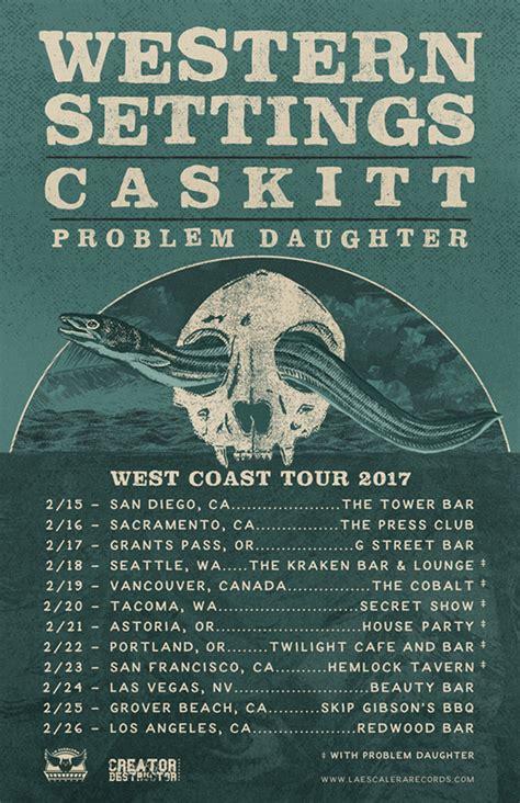 the gauntlet warbringer kick off west coast run with western settings caskitt problem daughter tour kicks off