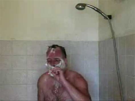 Cigarettes In The Shower singing in shower while
