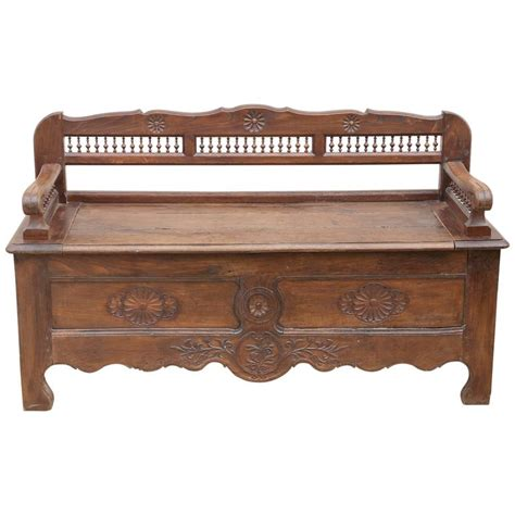 blanket box bench brittany blanket chest bench for sale at 1stdibs