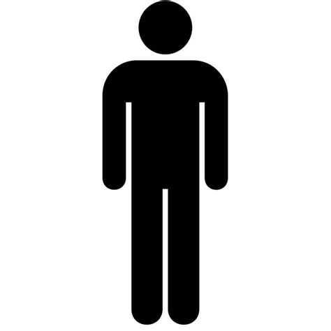 man bathroom sign man toilet pictogram vector clipart best