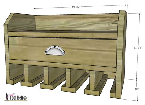 diy charging station plans cordless drill storage charging station her tool belt