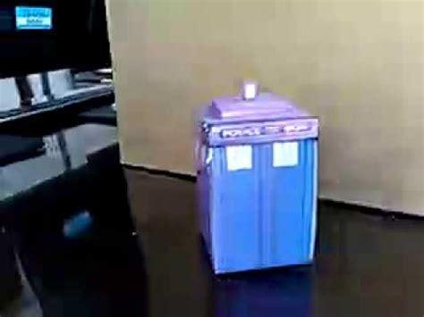 Origami Tardis - doctor who origami transforming tardis bigger on the