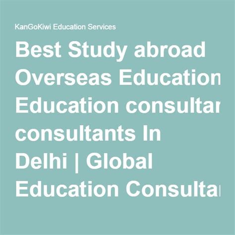 Higher Studies After Mba In Abroad by Best 25 Education Consultant Ideas On