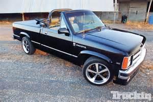 1989 Dodge Dakota Convertible Value 1989 Dodge Dakota Se Convertible Going Truckin