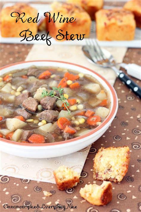 red wine beef stew recipe dishmaps