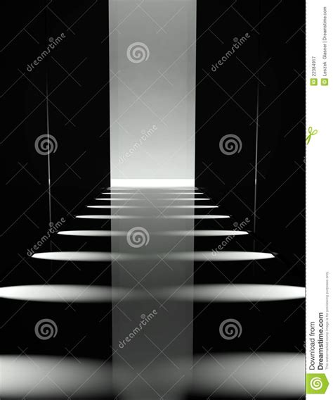Catwalk Wardrobe by 3d Empty Fashion Runway Stock Illustration Image Of Event