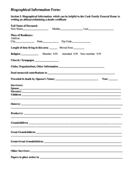fill in the blank obituary template fill online