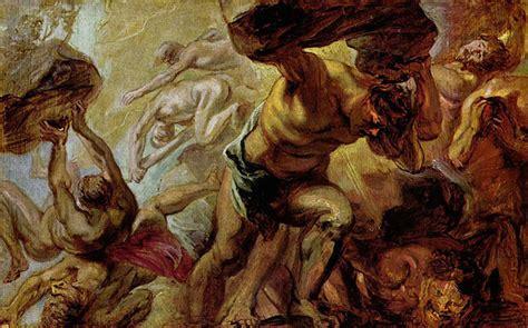 caida de hyperion la titanomachie et gigantomachie 231 a barde chez les dieux