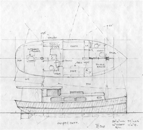 house barge plans barge design drawings