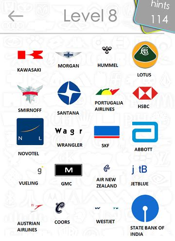 logos quiz answers: level 8 part 1