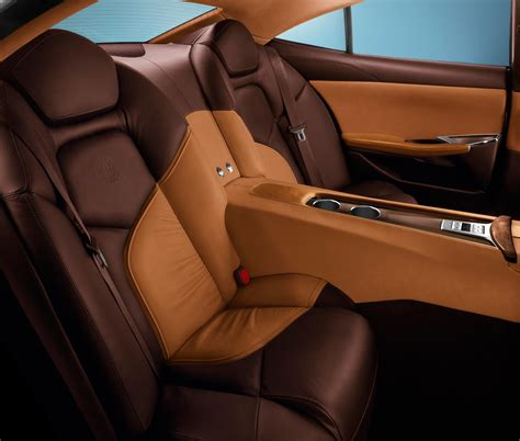Luxury Car Upholstery by The Range Extended Electric Fisker Karma Wins Top Gear