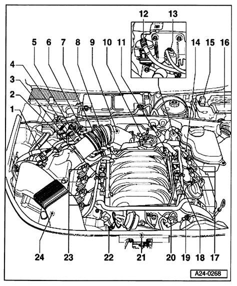 locate  engine coolant temp sensor   audi  quattro