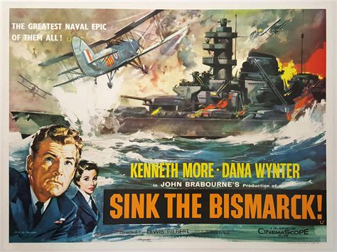 Sink The Bismarck by Sink The Bismarck 1960 Original Vintage Uk