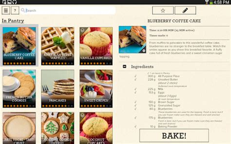 perfect bake android apps on google play