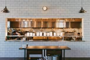 kitchen up inside chef ford fry s atlanta kitchens restaurant white subway tiles and tile