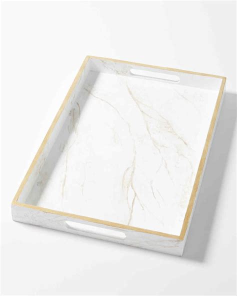 DIY This Marvelous Marble Serving Tray   Martha Stewart