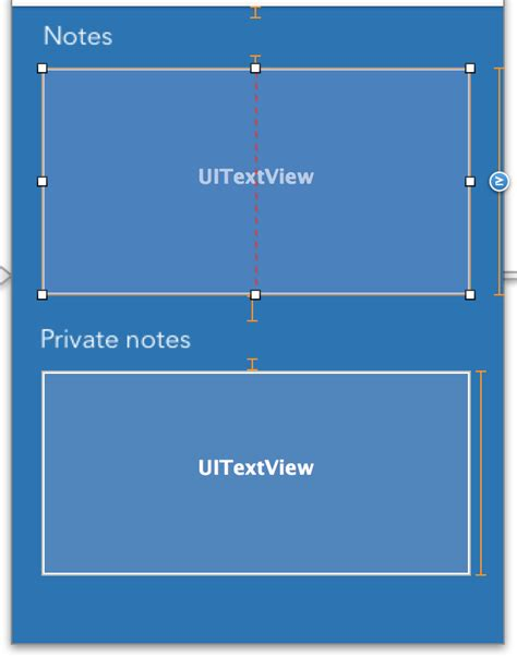 auto layout fixed height auto layout constraints vertical spacing with one ite