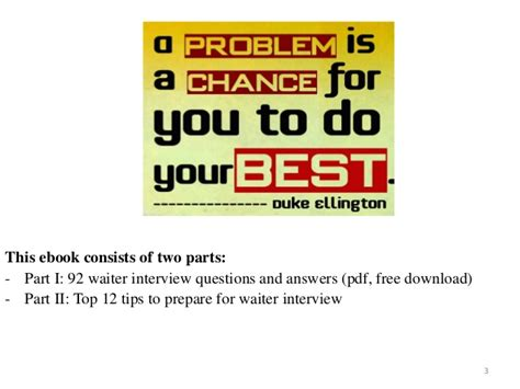top 36 waiter and waitress questions and answers pdf