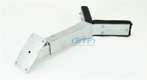 boat trailer bow stop assembly bow rest catcher assembly for boat trailer adjustable