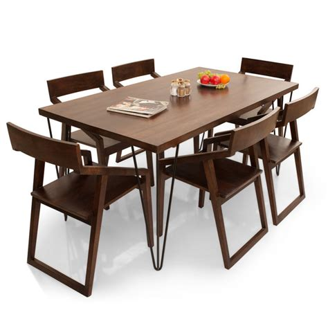 6 Seater Dining Tables Oslo Dulwich 6 Seater Dining Table Set Thearmchair