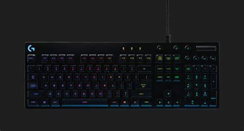 Keyboard Gaming Logitech G810 Spectrum Second logitech g810 mechanical keyboard takes cue from corsair