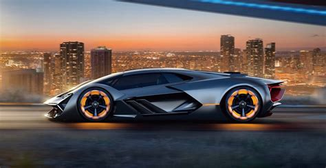 lamborghini the lamborghini terzo millennio electric concept previews the