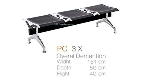 Kursi Besi Ruang Tunggu Kursi Tunggu Chair Pc 3x Inviti
