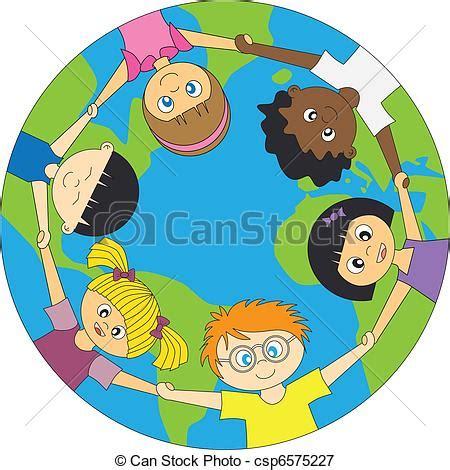 clipart mondo mundo crian 231 as ao redor mundo unidas crian 231 as ao redor