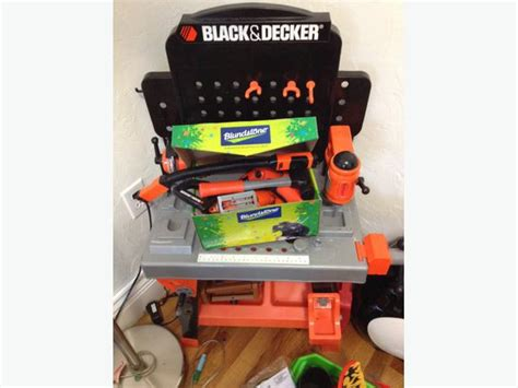 black and decker kids work bench kids black and decker workbench saanich victoria