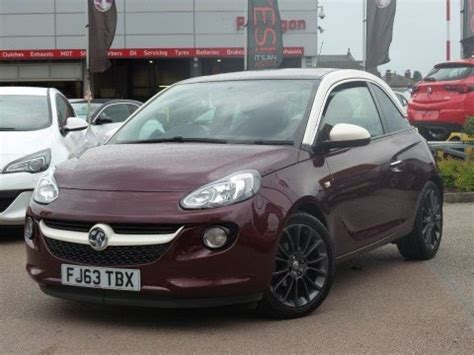 opel purple 2013 63 vauxhall adam 1 4 16v glam 3dr in very berry