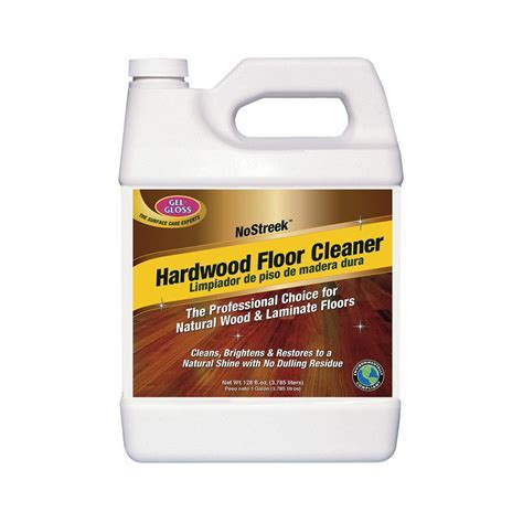 Gel Gloss Hardwood and Floor Cleaner WFC 128   The Home Depot