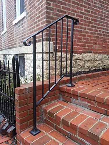 diy iron  handrail picket  fits    steps