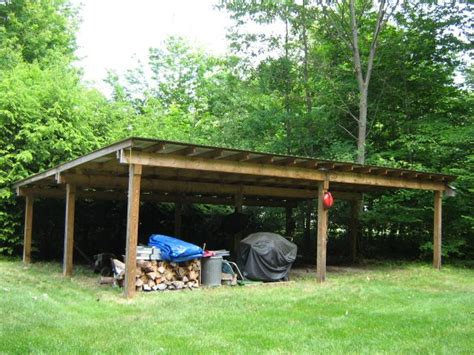 Backyard Open Shed