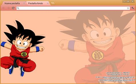 theme chrome dragon ball z dragon ball z google chrome theme by mikumendoza2 on