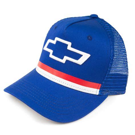 Topi Trucker Ford High Quality Hats chevrolet bowtie trucker hat blue