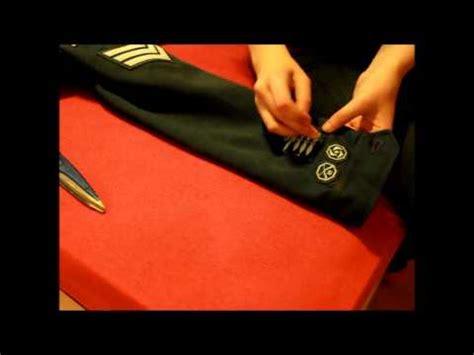 Jenita Tunic how to sew cadet badges phim clip