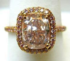 Verlobungsring Für Sie by Pinke Diamanten Chagner And Rotgold On