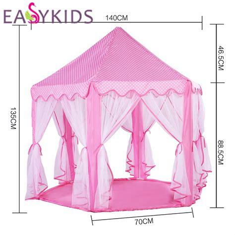 Tenda Anak Istana tenda bermain anak model istana portable tent blue