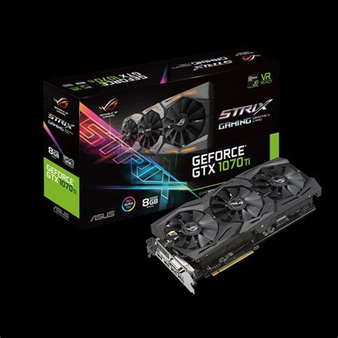 Ready Zotac Gtx 1070ti 8gb Ddr5 Dual Fan Gtx 1070 Ti Gtx1070 Ti Mini rog strix gtx1070ti 8g gaming graphics cards asus usa