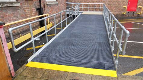 Residential Floor Plans With Dimensions 1800mm Modular Public Access Ramp System Preferred