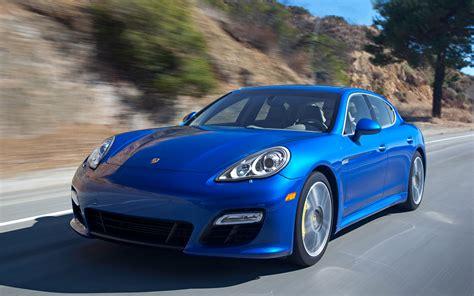 blue porsche panamera 2017 2012 porsche panamera turbo s first test motor trend