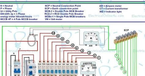 2 pole rcd wiring diagram 25 wiring diagram images