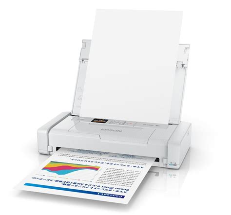Printer Epson Portable lightweight epson px s05 mobile printer fits inside your