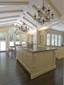 Cathedral Ceiling Kitchen Lighting Ideas by Decorating Style Series French Country My Love Of Style