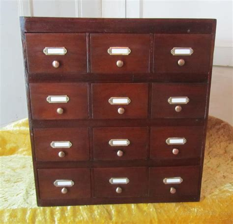 Filing Cabinet Collectors Cabinet Spice Drawers