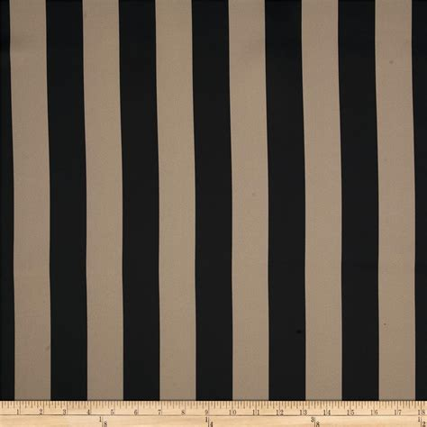 blackout drapery fabric rca vertical stripe blackout drapery fabric khaki black