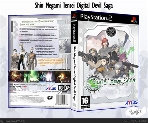 Digital Saga Original Dvd Playstation 2 digital saga playstation 2 box cover by hawpoka